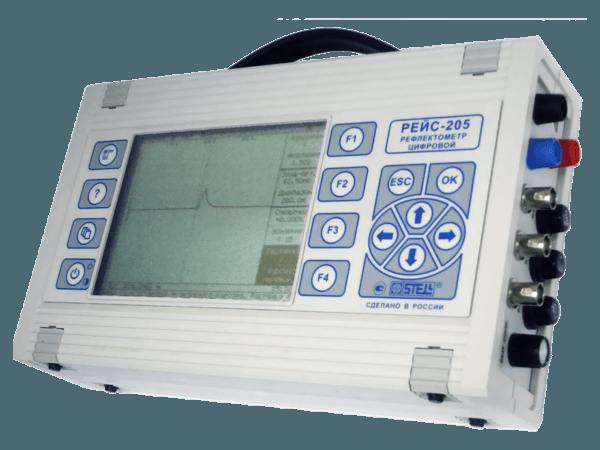 цифровой рефлектометр РЕЙС-205 вид справа