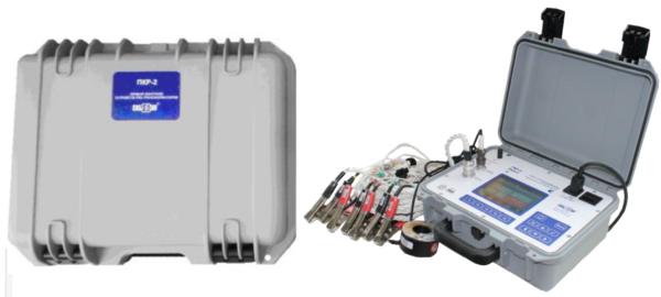 прибор контроля устройств РПН трансформаторов ПКР-2 в комплекте