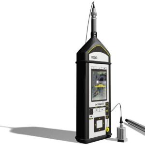 шумомер, виброметр, анализатор спектра ОКТАВА-110 А(эко) в сборе