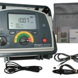 Микроомметр цифровой DLRO10HD в комплекте