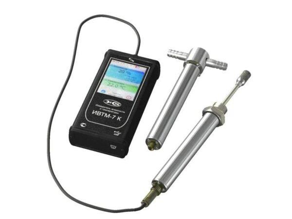 портативный термогигрометр ИВТМ-7 К с зондами