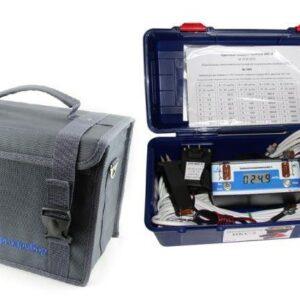 Микроомметр ИКС-5 упакован в сумку
