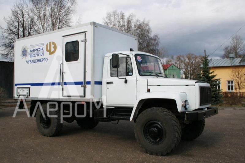 ЭТЛ 35К на базе ГАЗ 33081 4х4