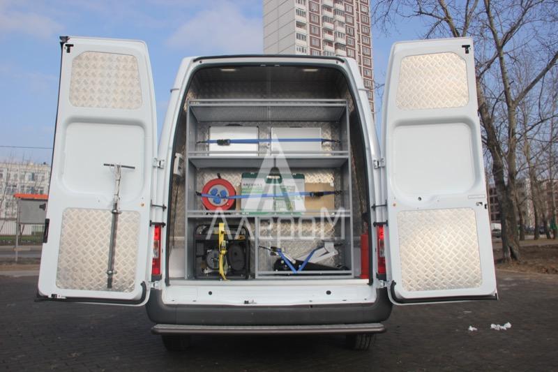 переоборудование фургонов в лабораторию энергоаудита