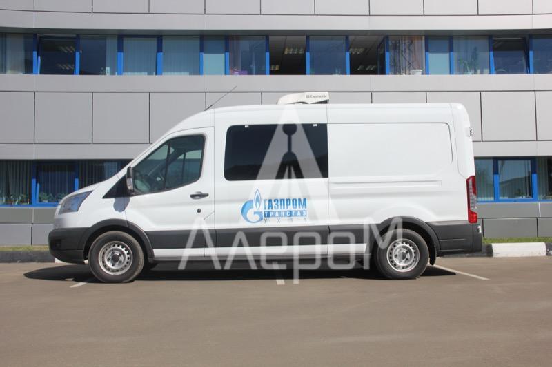 Контроль атмосферного воздуха на базе Ford Transit