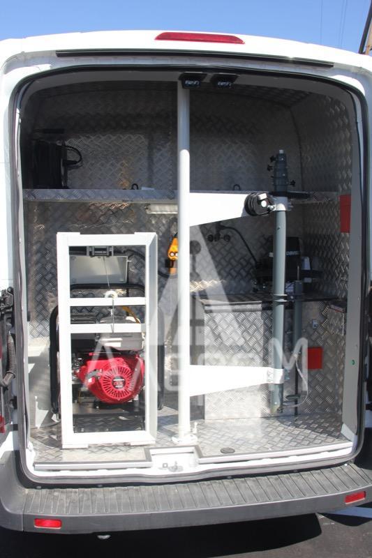 Оборудование грузового отсека экологической лаборатории