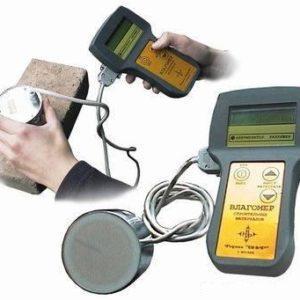 Измерение влагомером строительных материалов ВСМ-1