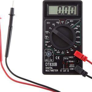 Мультиметр «РЕСАНТА DT830B» готов к работе.